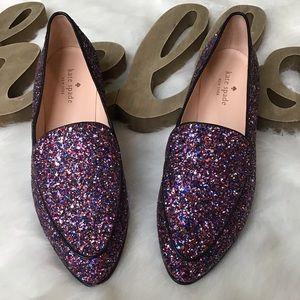 ♠️🤩KATE SPADE Calliope' Glitter Flat ♠️🤩